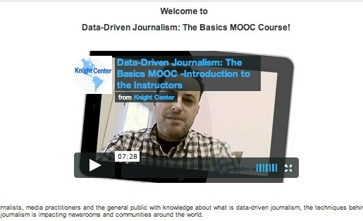data journalism course