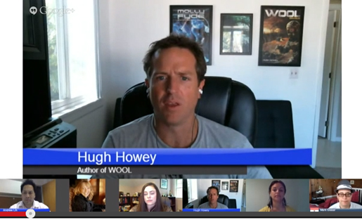 hugh howey mediatwits