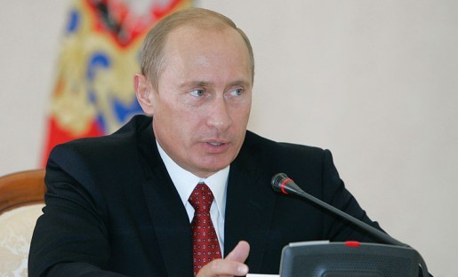 Russian President Vladimir Putin holding a meeting of G8 heads of parliament in 2006. Photo by  the office of the President of the Russian Federation and used here with Creative Commons license.