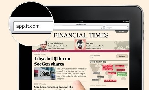 "The Financial Times recently added ""news in context"" to part of its digital strategy."