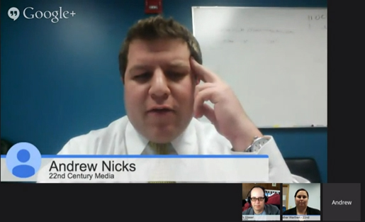 nicks on hangout