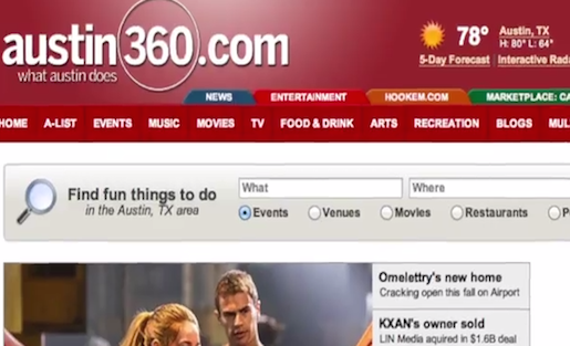 The Austin American-Statesman has developed its entertainment site Austin 360 for iOS and Android to help gather information about what Statesman readers want from their news experience.