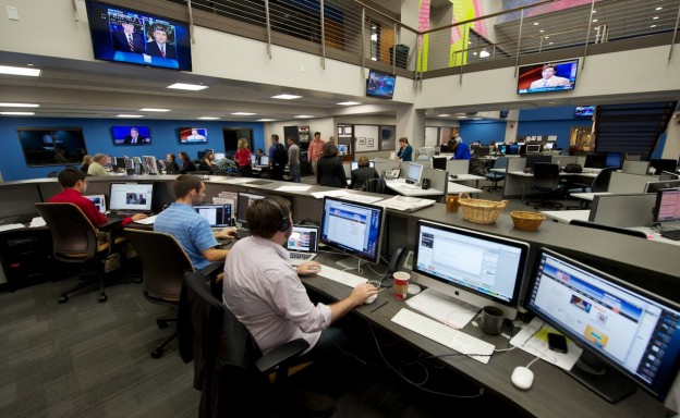 Photo of the Innovation News Center by Steve Johnson.
