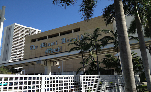 The Miami Herald moved to Dural, FL, away from downtown, which raised concerns for staffers. Photo by Phillip Pessar on Flickr and used here with Creative Commons license.