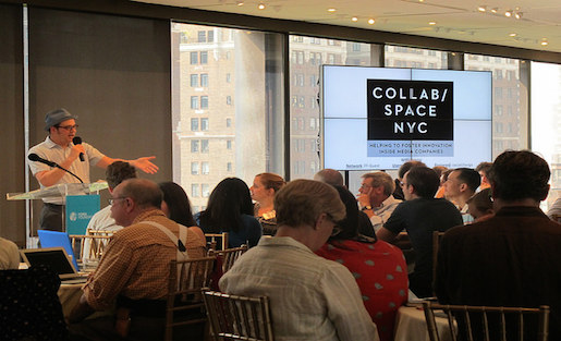 Collab/Space New York will be returning to the Ford Foundation this July 15.