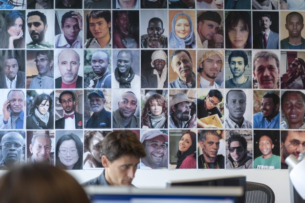 Picture: France 24's The Observers program uses verified citizen contributors as correspondents. Photo Credit: Tim Anger