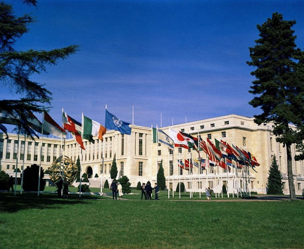 The UN Palais des Nations in Geneva. Photo courtesy of the United Nations and used here under Creative Commons license.