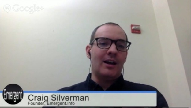 Craig Silverman on Mediatwits  Feb 26, 2015