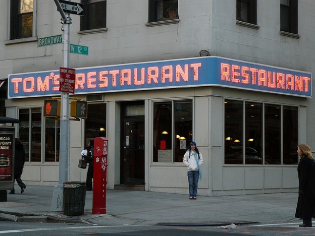 Tom's Restaurant is a Seinfeld icon. Could the show give us insight into the Internet's emotional landscape? Photo by  Mercedes Bugarin and reused here with Creative Commons license.