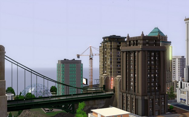 Sim City screenshot by Lauren on Flickr and used here with Creative Commons license.