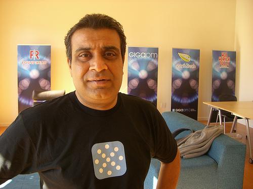Om Malik, in 2008