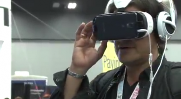 Virtual reality, a spotlight of SXSW, will continue to influence the way humans interact with digital content. Screenshot courtesy of RJI.