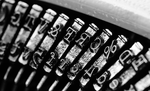 Typewrite. Free image from http://pixabay.com/en/types-typewriter-black-white-738846/
