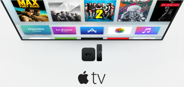 Screenshot from Apple.com/tv.