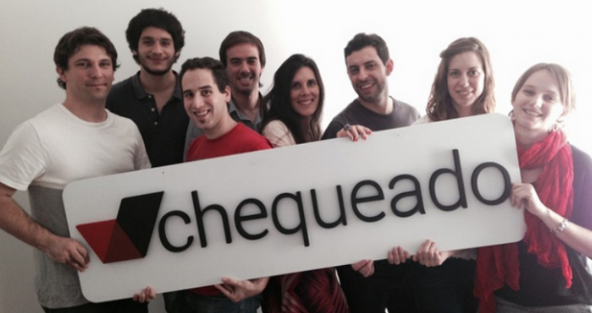 The team of Chequeado, a fact-checking non-profit news organization in Argentina.