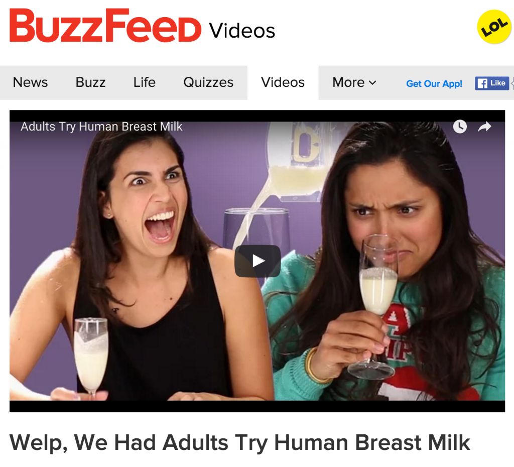 BuzzFeed video screenshot.