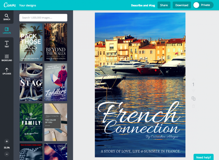 Canva Book Cover Creator