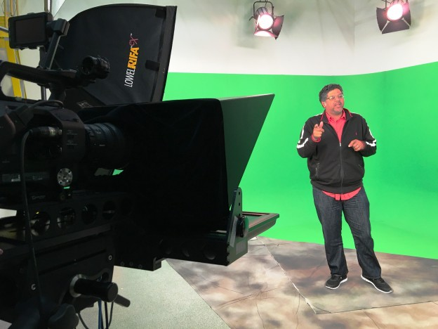 Aaron Hosé, lead video producer for UCF's Center for Distributed Learning, talks about what makes good video at the CDL video studio in Orlando.