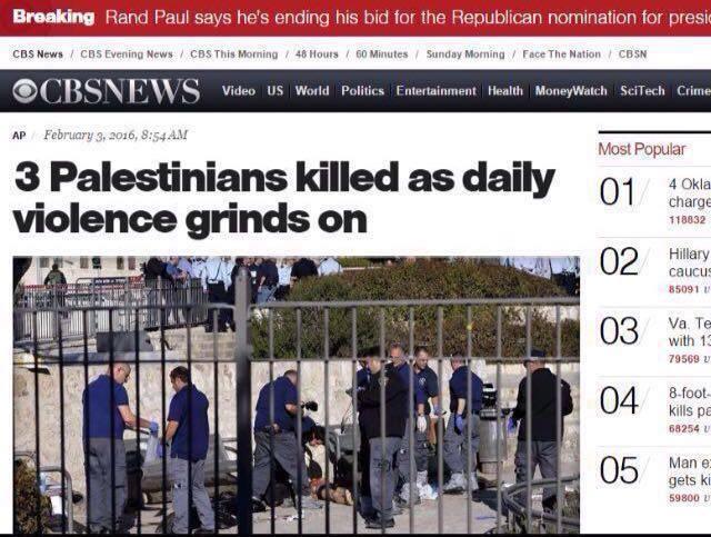 An erroneous headline was altered under government pressure.