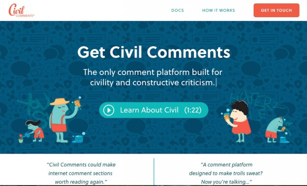 Civil Comments screenshot