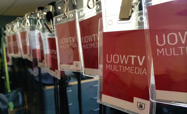 UOWTV Multimedia lanyards