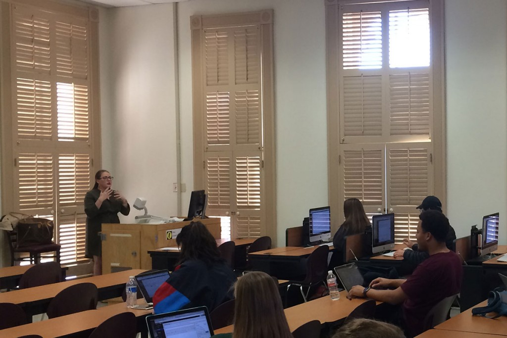 Students now receive skills training in smaller lab sessions that complements the digital perspective introduced in lecture.