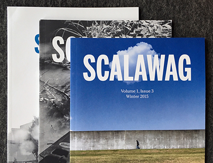 Scalawag's first three issues.
