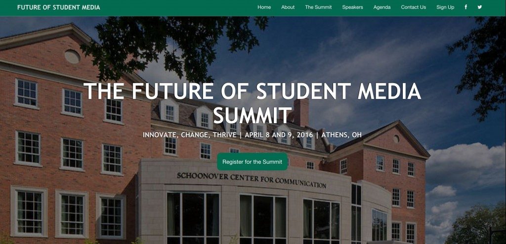 The website for the summit features information about who will be speaking at the event.
