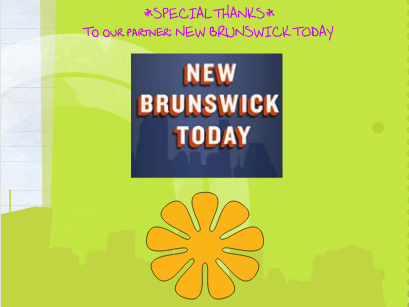 The back cover of the tween magazine On the 'Zine, a partnership between New Brunswick Today and the New Brunswick Free Public Library.
