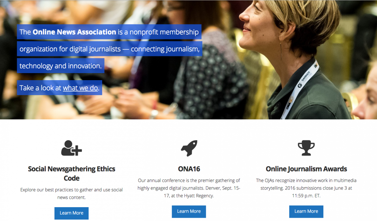 The deadline to submit entries for ONA's Online Journalism Awards is today!
