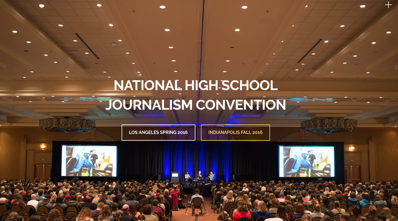The JEA/NSPA National High School Journalism Convention in Indianapolis on November 10-13, 2016, is a new addition to this week's post.