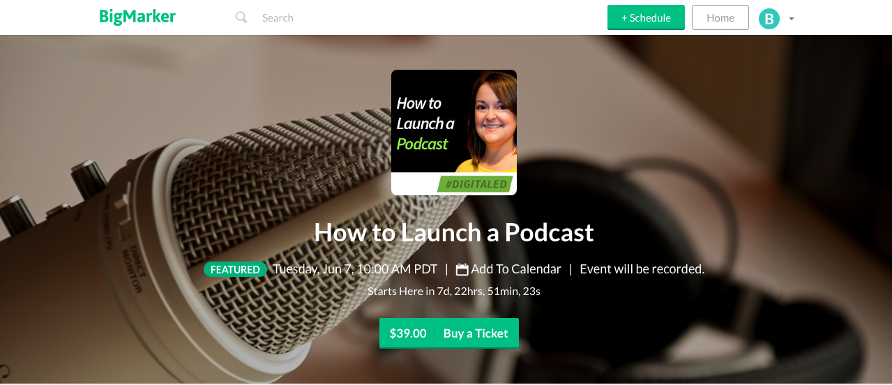 Learn how to launch a podcast in our next DigitalEd training on June 7, 2016. Sign up here.