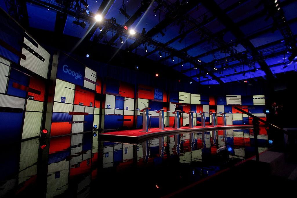 2016 Republican Presidential Debate in Iowa. Photo by Gage Skidmore.