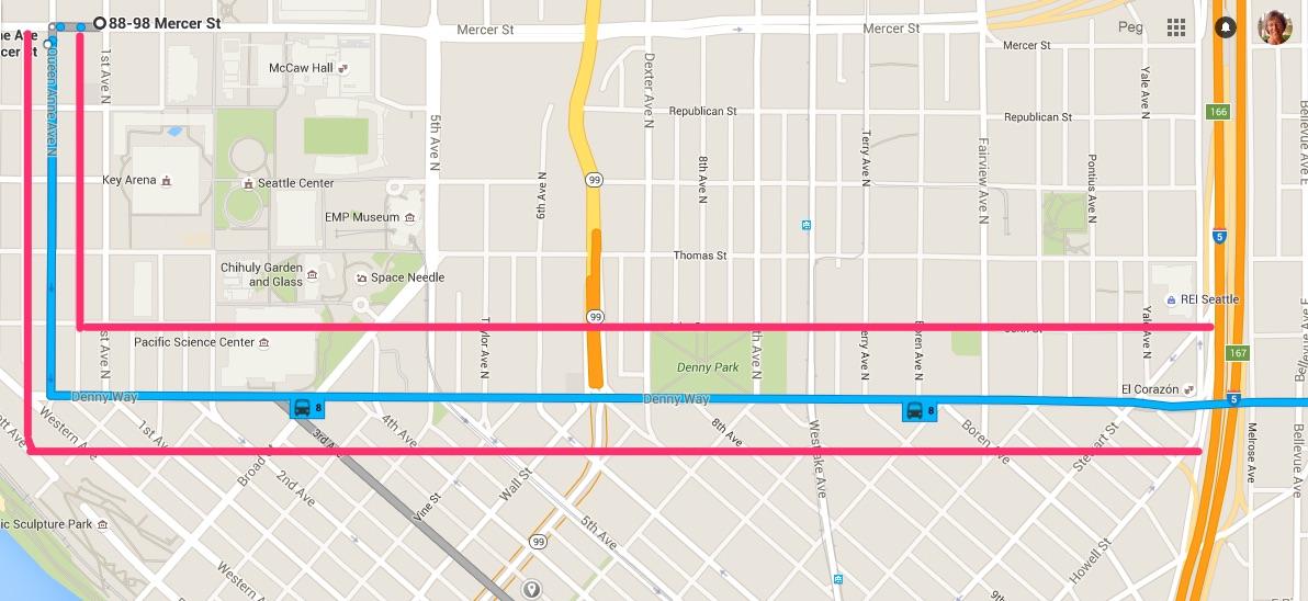 map segment
