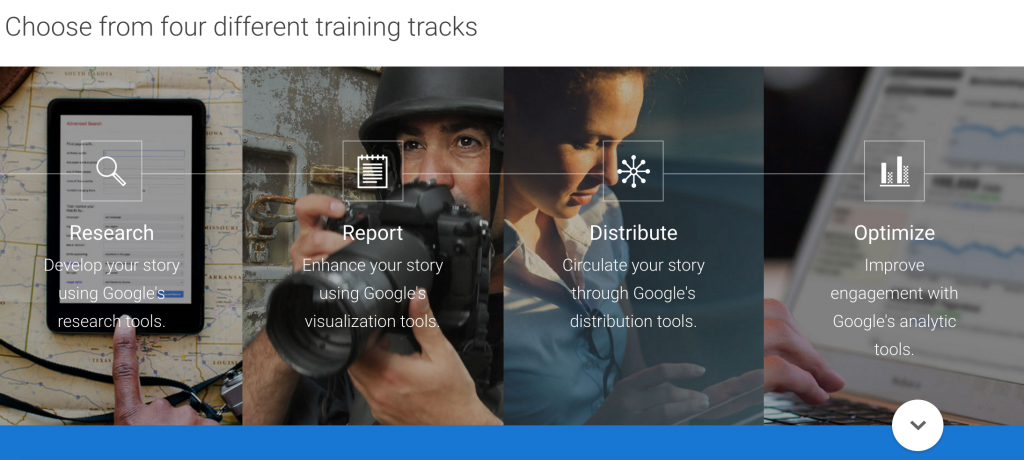 A look at Google News Lab's suite of tools for journalists.