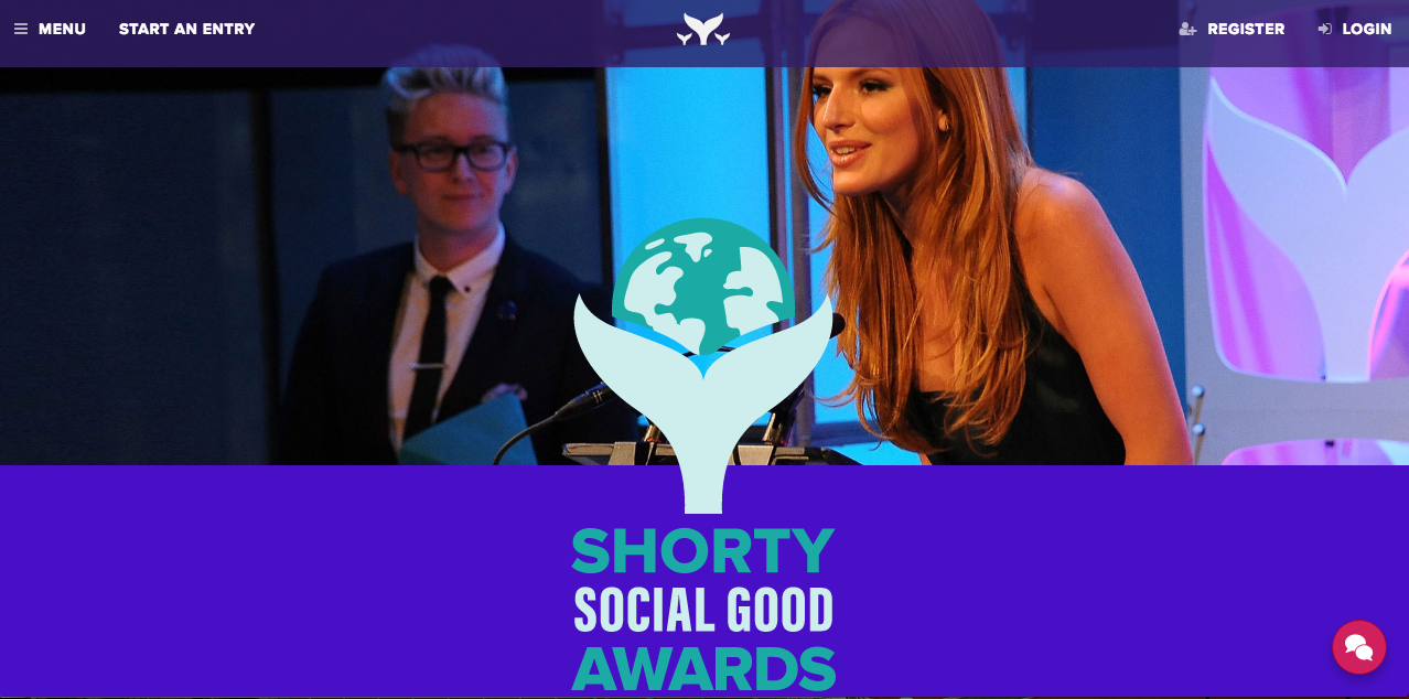 Shorty Social Good Awards