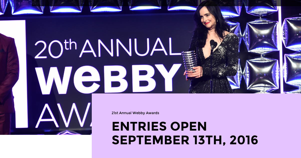Webby Awards screenshot