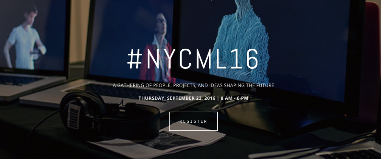 Registration is still open for NYC Media Lab 16 at Columbia University this week.