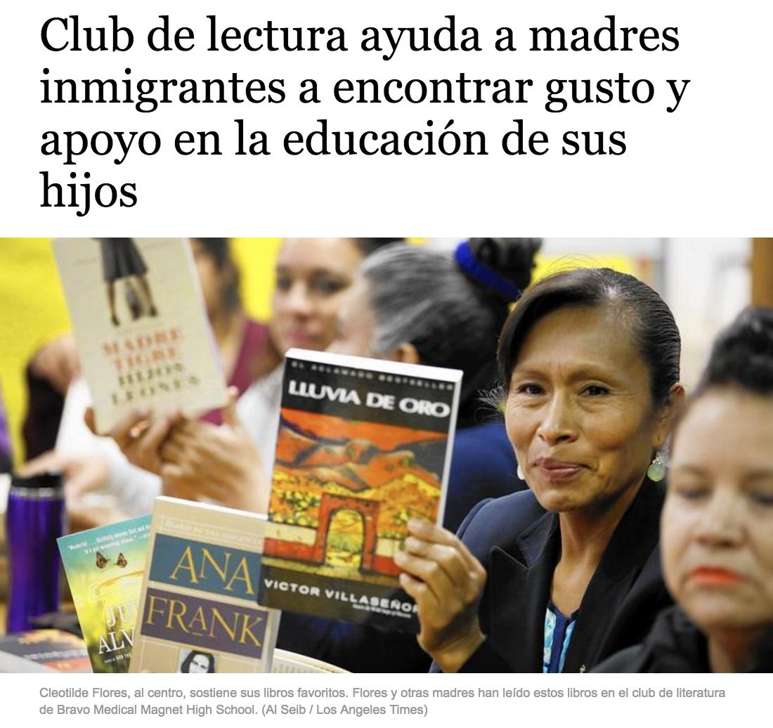 Screenshot of article from Hoy.com