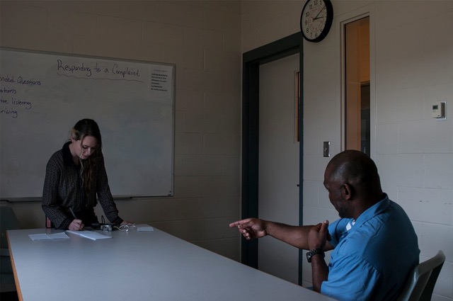 Maine is one of the two states that allows incarcerated citizens to vote. Mahoney traveled to Maine State Prison to interview inmates about their experience with the electoral process.
