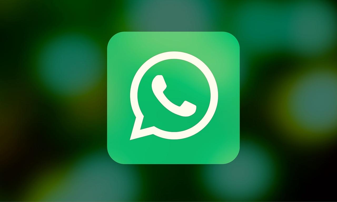 The Whatsapp logo. Stick image.