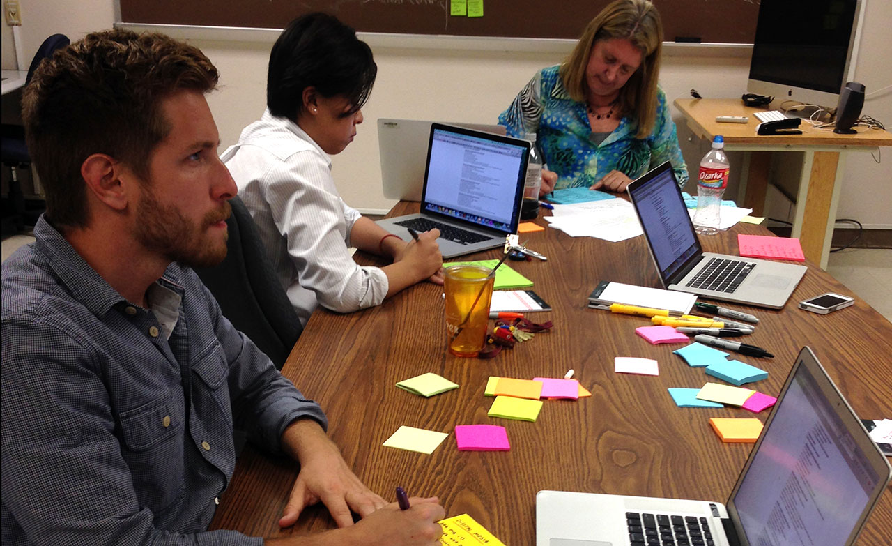 Digital Faculty used design thinking techniques to craft the new Digital Media Innovation degree.