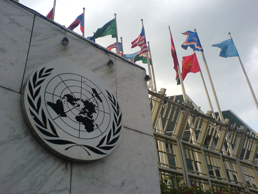 The deadline for the United Nations/Ranan Lurie Political Cartoon Awards is Nov. 15. Photo by Isriya Paireepairit on Flickr and used with Creative Commons license.