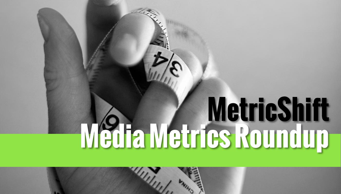 Media Metrics Roundup for September 13, 2017