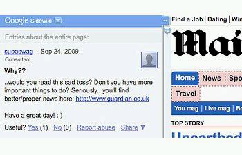 http://www.pbs.org/mediashift/Sidewiki