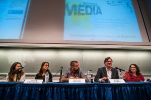 "On April 15, the West Virginia University P.I. Reed School of Journalism hosted ""Coding for the Future: The Rise of Hacker Journalism,"" a panel event as part of their new 'Future of Media – NOW!"" speaker series."