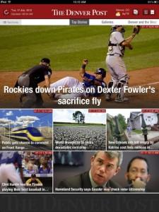 Denver Post screen shot