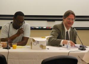 John Mooney, founding editor of NJ Spotlight at NJ Media Lab Conference at Montclair State University, May 21, 2013, Photo by MSU's Steve Johnson