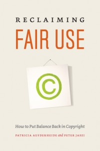 'Reclaiming Fair Use' is written by the author Patricia Aufderheide, director of the Center for Social Media, and Peter Jaszi, professor of Law in the Washington College of Law at American University.