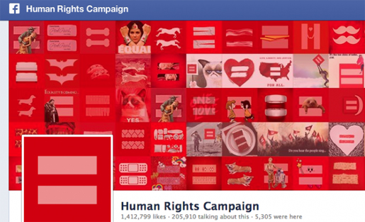 human rights campaign FB